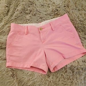 Bright pink Lilly pulitzer shorts